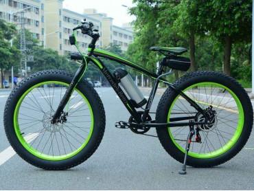Электровелосипед 52 Fatbike Mercedes Benz
